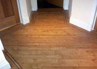 laminate floor laid by Designerv Flooring